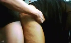 Doggy style orgasm(very strong)