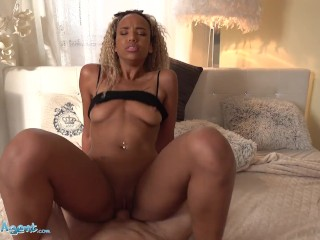 Public Agent Sexy Dutch Ebony Romy Indy POV Sex Video